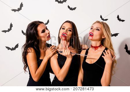 Trick Or Treat! Or Death! Diabolic, Satanic, Cursed, Paranormal Creatures Of The Night. Terrifying G