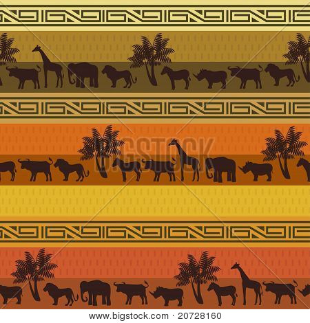 African style background
