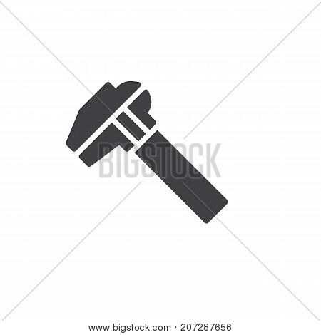 Caliper icon vector, filled flat sign, solid pictogram isolated on white. Symbol, logo illustration.