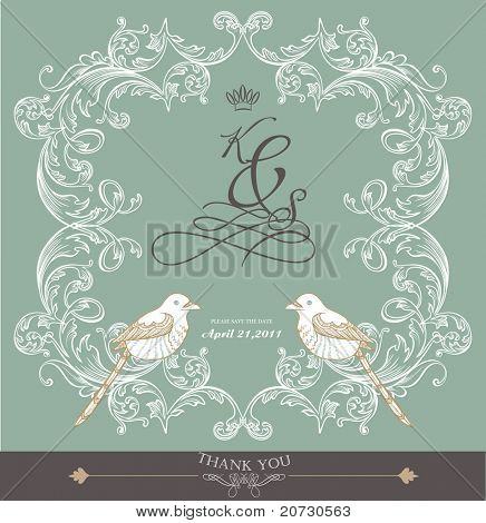 card cover design- wedding card- valentine's card