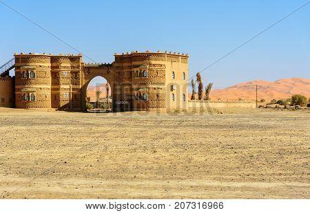 Hotel Ksar Bicha In Merzouga, Morocco