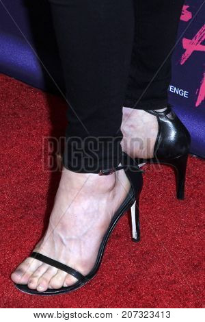 LOS ANGELES - OCT 2:  Francesca Eastwood (shoe detail) at the