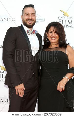 LOS ANGELES - SEP 30:  John J Budion, mother at the Catalina Film Festival - September 30 2017 at the Casino on Catalina Island on September 30, 2017 in Avalon, CA