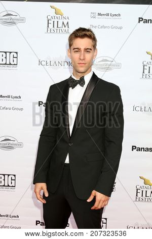LOS ANGELES - SEP 30:  Luke Guldan at the Catalina Film Festival - September 30 2017 at the Casino on Catalina Island on September 30, 2017 in Avalon, CA