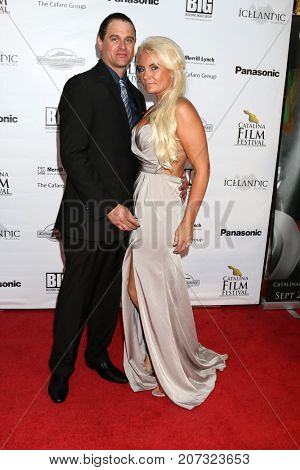 LOS ANGELES - SEP 30:  Justin King, Meissa King at the Catalina Film Festival - September 30 2017 at the Casino on Catalina Island on September 30, 2017 in Avalon, CA