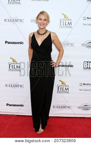 LOS ANGELES - SEP 30:  Stacey Van Gorder at the Catalina Film Festival - September 30 2017 at the Casino on Catalina Island on September 30, 2017 in Avalon, CA