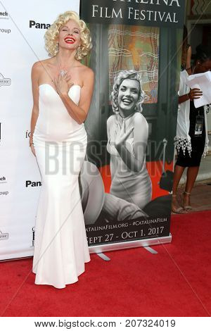 LOS ANGELES - SEP 30:  Theresa Irelan at the Catalina Film Festival - September 30 2017 at the Casino on Catalina Island on September 30, 2017 in Avalon, CA