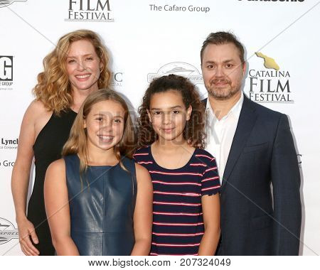 LOS ANGELES - SEP 30:  Theodore Melfi, family at the Catalina Film Festival - September 30 2017 at the Casino on Catalina Island on September 30, 2017 in Avalon, CA