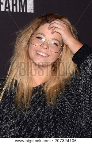 LOS ANGELES - SEP 29:  Sasha Pieterse at the Knott's Scary Farm and Instagram Celebrity Night at the Knott's Berry Farm on September 29, 2017 in Buena Parks, CA