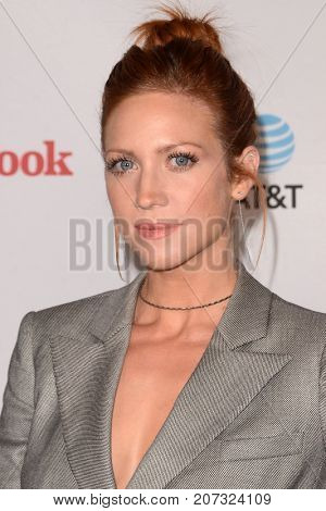 LOS ANGELES - SEP 27:  Brittany Snow at the TLC's Give A Little Awards at the NeueHouse Hollywood on September 27, 2017 in Los Angeles, CA