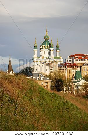 Church Of St. Andrew In Kieve.ukraina