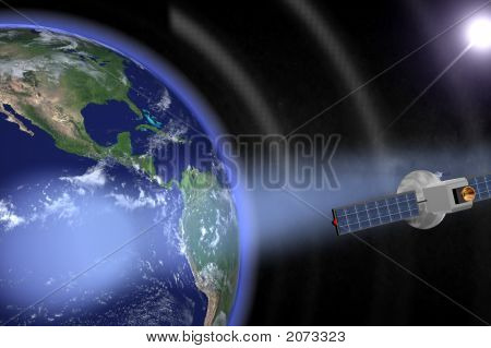 Satellite Orbiting