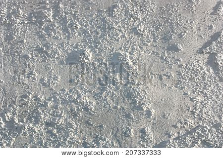 Outdoors White Background Of   Plaster, Cement Texture
