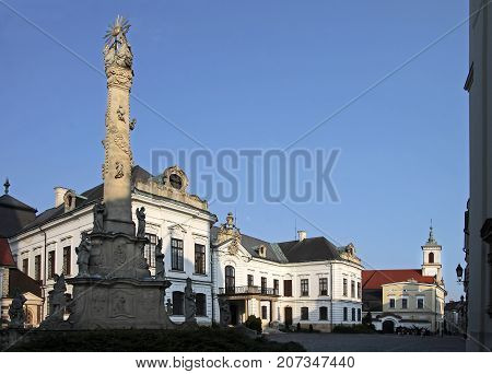 Bishop`s Palace in the Castle District in Veszprem Hungary