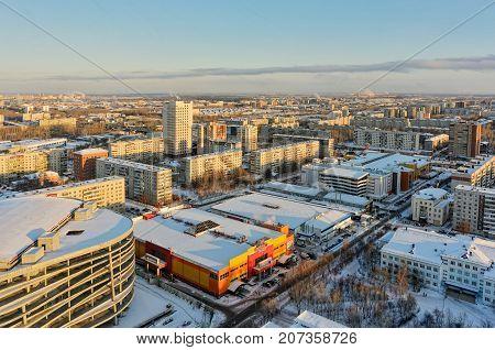Residential District No.4. Tyumen