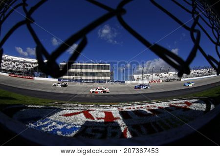 September 30, 2017 - Dover, Delaware, USA: Tyler Reddick (42) brings his car through the turns during the Use Your Melon. Drive Sober 200 at Dover International Speedway in Dover, Delaware.
