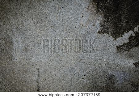 Background cement floor or gray with black background.Or abstract gray space.