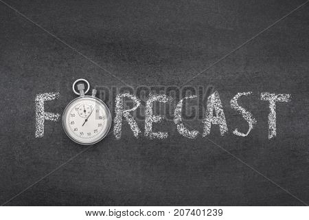 Forecast Word Watch