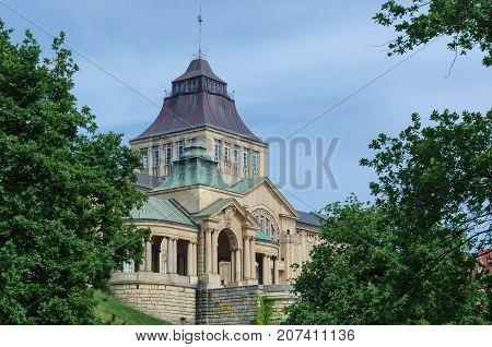 PALACE ON THE ESCARPMENT - Museum building in Szczecin