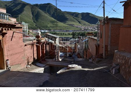 The Development Takes Place Around Labrang Or Xiahe In Amdo Tibet