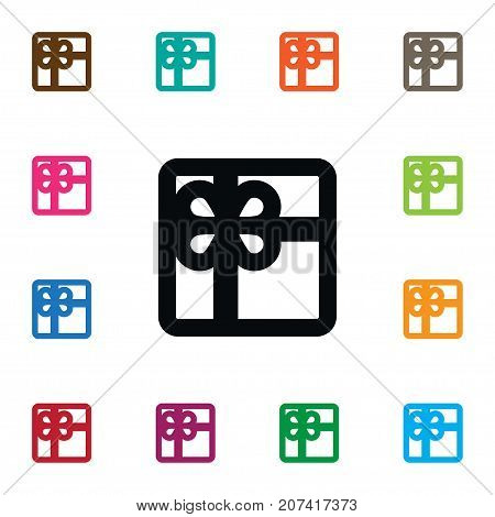 Surprise Vector Element Can Be Used For Box, Gift, Present Design Concept.  Isolated Giftbox Icon.