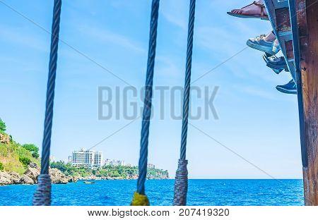 Children On Ship