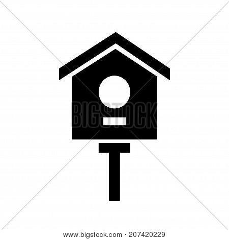cartoon birdhouse isolated on white background wooden birdhouse vector nesting box