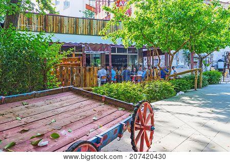 Relax In Tea House Of Antalya