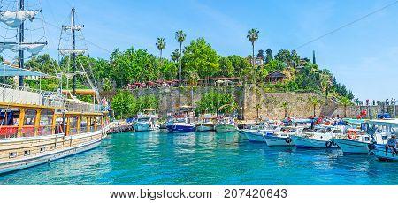 The Turkish Riviera, Antalya