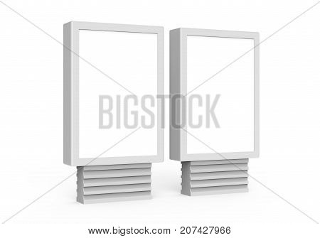 Two Blank Light Boxes