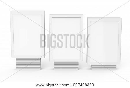 Three Different Sizes Light Boxes