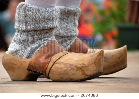Wood Clogs