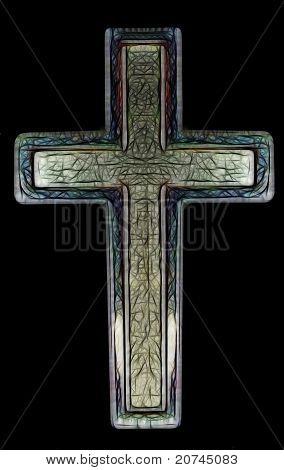 Christian Cross Art