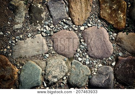 Stone Path Background