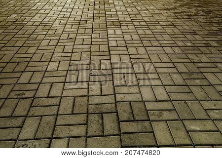 Paving slab. Paving tile. Paving slab texture. Paving slab background.