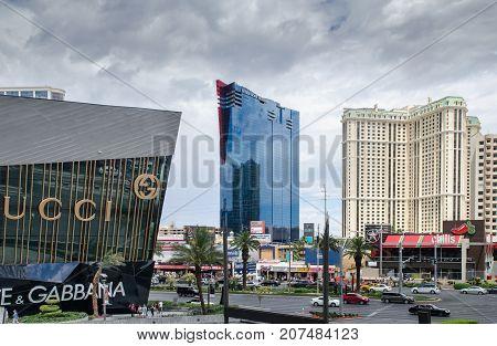View On Las Vegas Main Boulevard