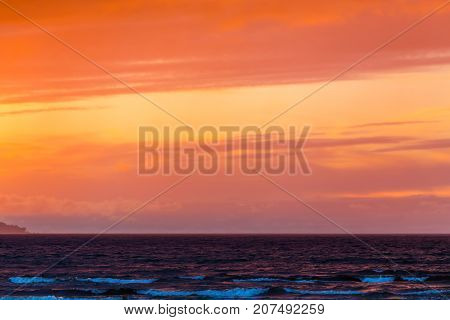Beautiful Seascape. Composition Of Nature