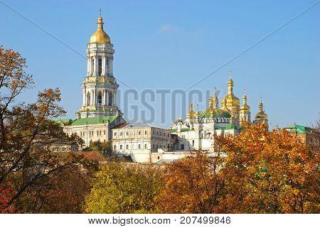 Kiev-Pechersk Lavra in the city of Kiev. Monastery. Ukraine