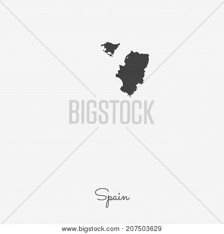 Spain Region Map: Vector & Photo (Free Trial) | Bigstock