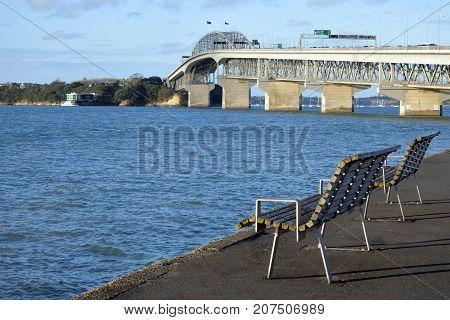 Auckland Harbour Bridge New Zealand