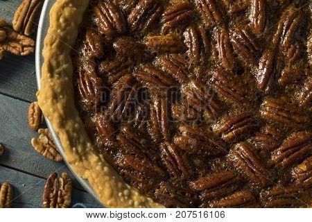 Sweet Homemade Crunchy Pecan Pie