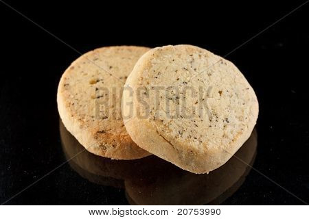 tasty cookie with lavender