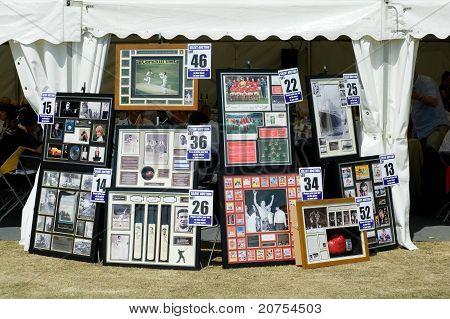 Celebrity Memorabilia
