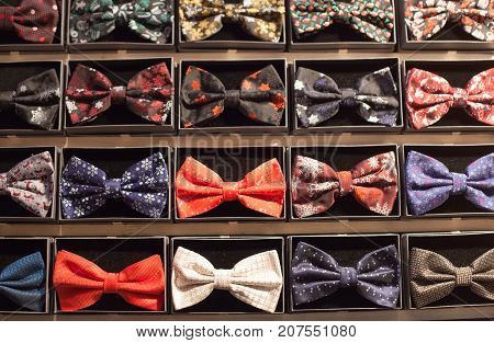 Many Models Of Bows For Men`s Costumes