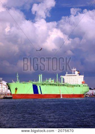 Large Oil-Tanker