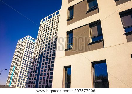 High Rise Condominiums, Residential Building, Apartment Building Exterior,  High Rise Buildings, Urban Housing