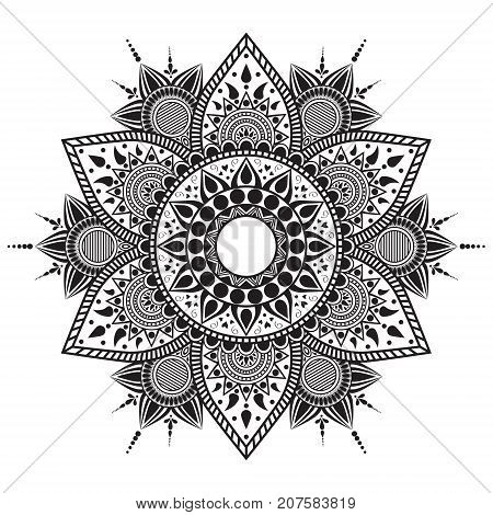 Mandala Flower.eps