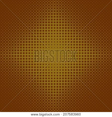 Geometrical halftone ellipse grid pattern background - vector graphic from ellipses in varying sizes