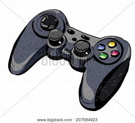 Game Pad Cartoon Vector Photo Free Trial Bigstock