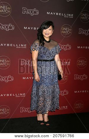 LOS ANGELES - OCT 4:  Kelly Marie Tran at the 2017 People's Ones To Watch at the NeueHouse Hollywood on October 4, 2017 in Los Angeles, CA